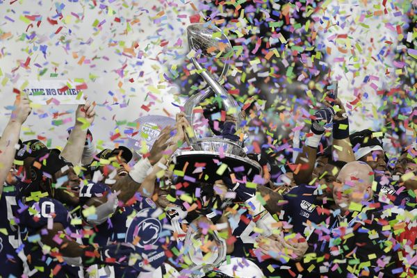 Rushing attack and some clutch defense propels Penn State to 53-39 Cotton Bowl win over Memphis