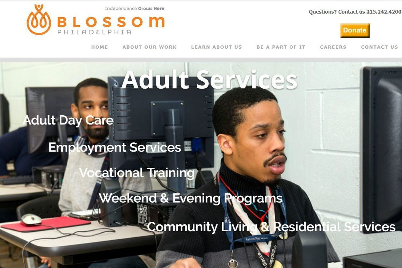 Blossom Philadelphia substitute providers in talks with state