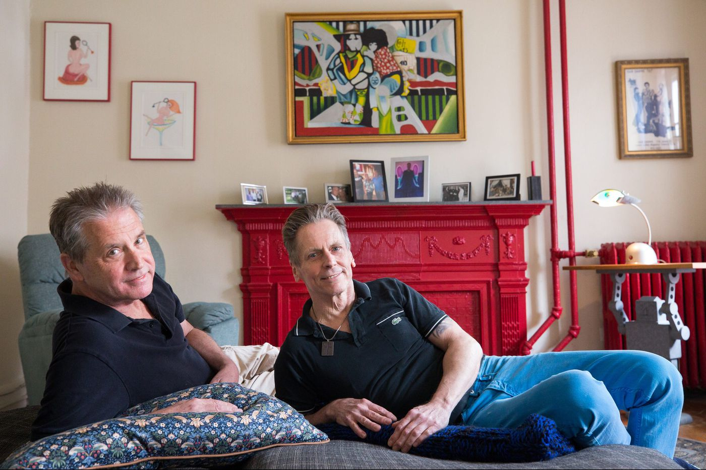 A South Street apartment's journey from eclectic to psychedelic and back again