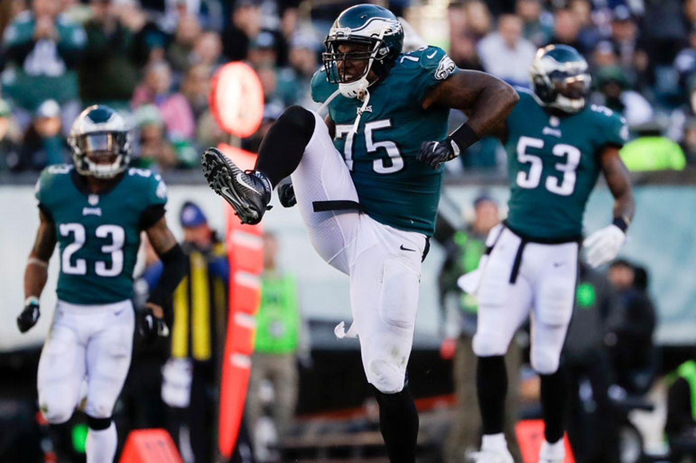 Vinny Curry happy to be back 'home' with the Eagles, even at a possible discount