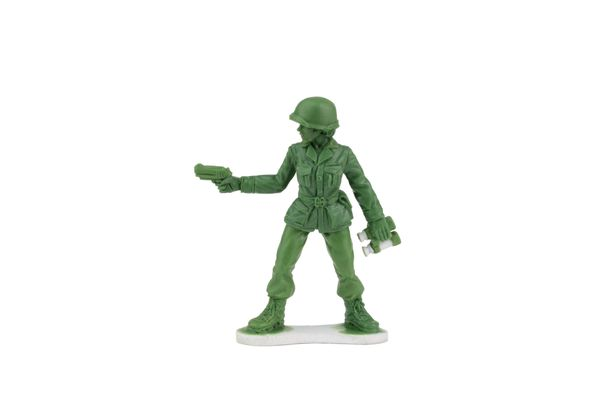 Little green women soldiers are coming soon, thanks to a Scranton company and a 6-year-old girl