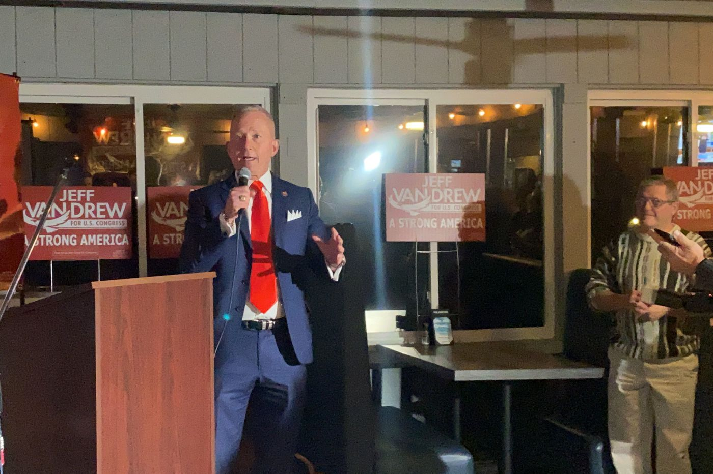 U.S. Rep. Jeff Van Drew leading in race as storied Kennedy family runs into thicket of local Atlantic City politics
