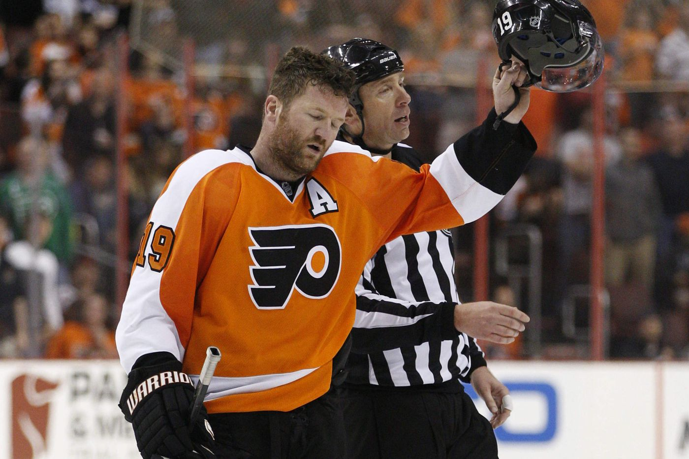 Flyers' Hartnell fined for spearing