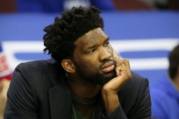 Joel Embiid to miss fourth consecutive Sixers game with tendinitis in left knee