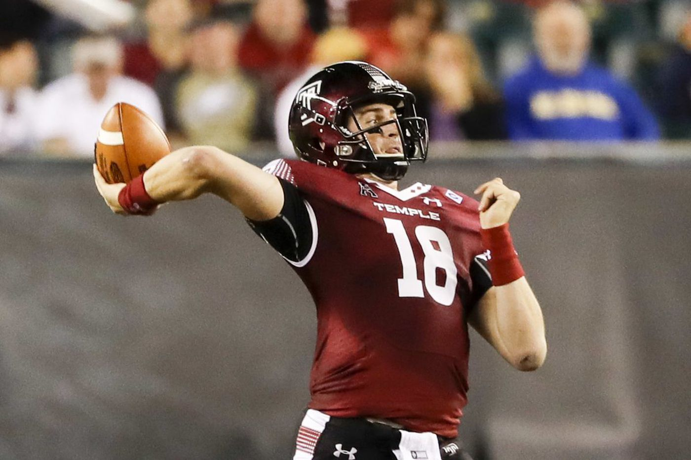 Kickoff times set for six Temple football games