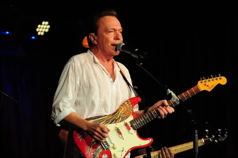 David Cassidy performing live in concert in New York City in March 2016. The former teen star of The Partridge Family died of liver failure on Tuesday.