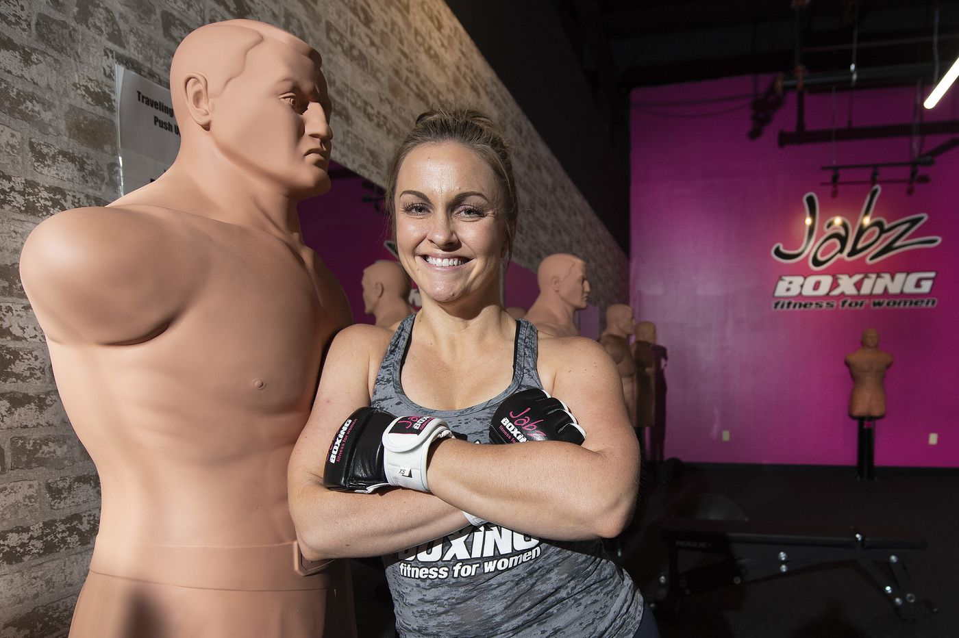 Former Delaware County cop empowers at her new, no-men-allowed fitness studio