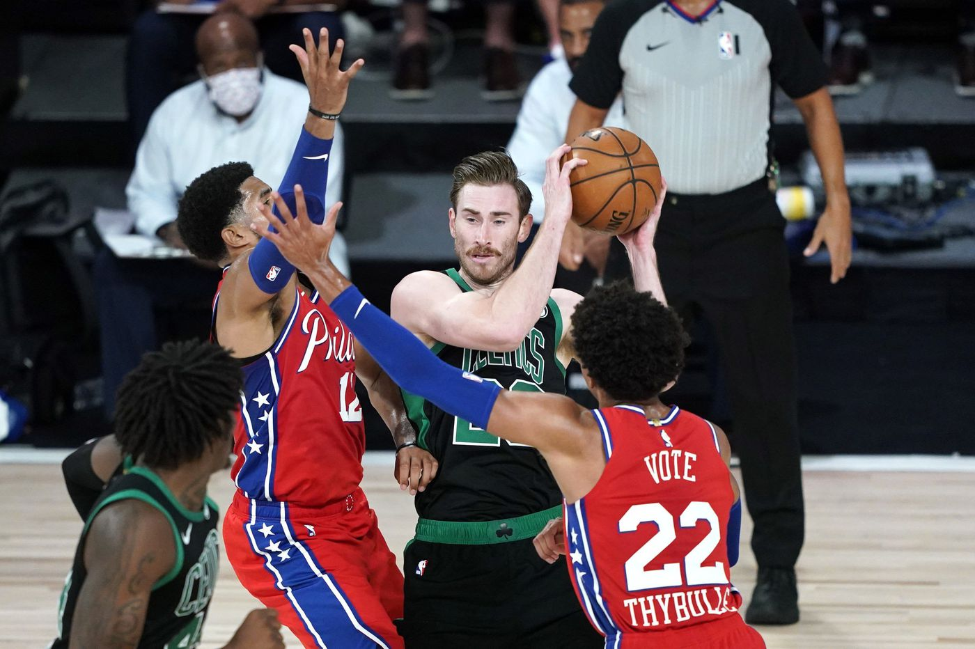 How Gordon Hayward's injury could impact the Sixers' starting lineup vs. Celtics