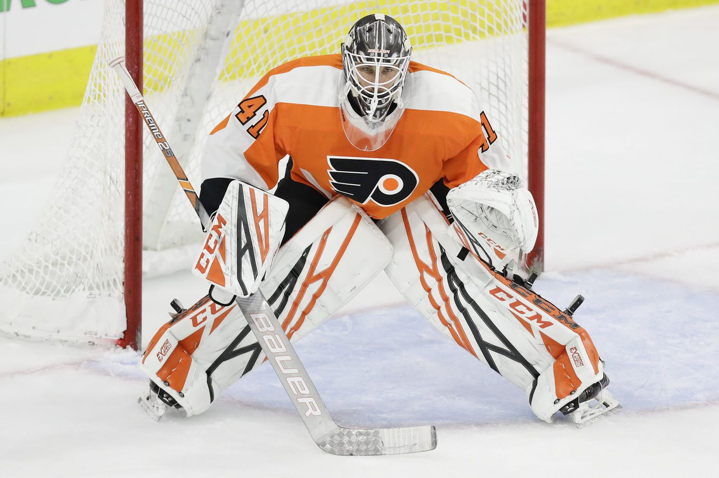 Goalie Anthony Stolarz is a bright spot for the floundering Flyers