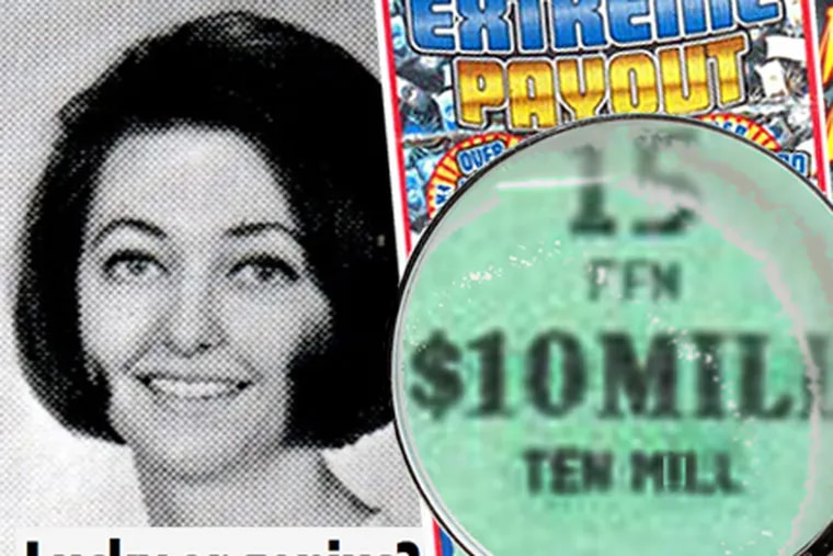 Lottery legend Joan Ginther bet flabbergasting sums on scratch-offs