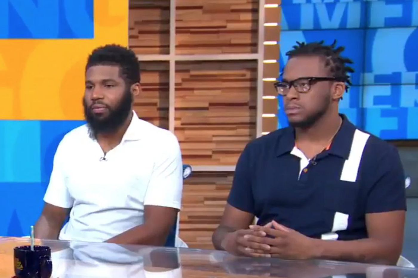 Men arrested at Philadelphia Starbucks appear on GMA: 'It's not just a black people thing, this is a people thing'