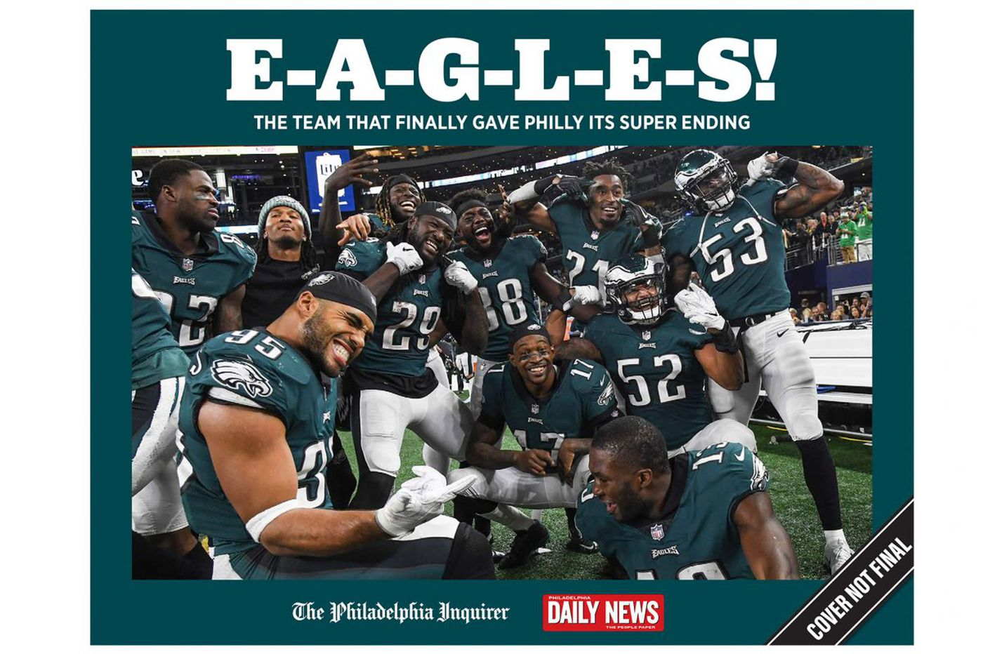 Relive the Philadelphia Eagles' Super Bowl-winning season with the Inquirer and Daily News' limited-edition commemorative book