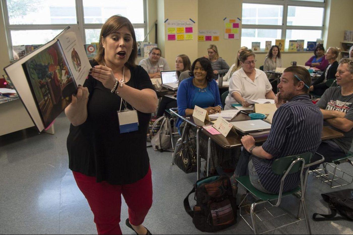 At summer school, teachers learn best methods to increase literacy