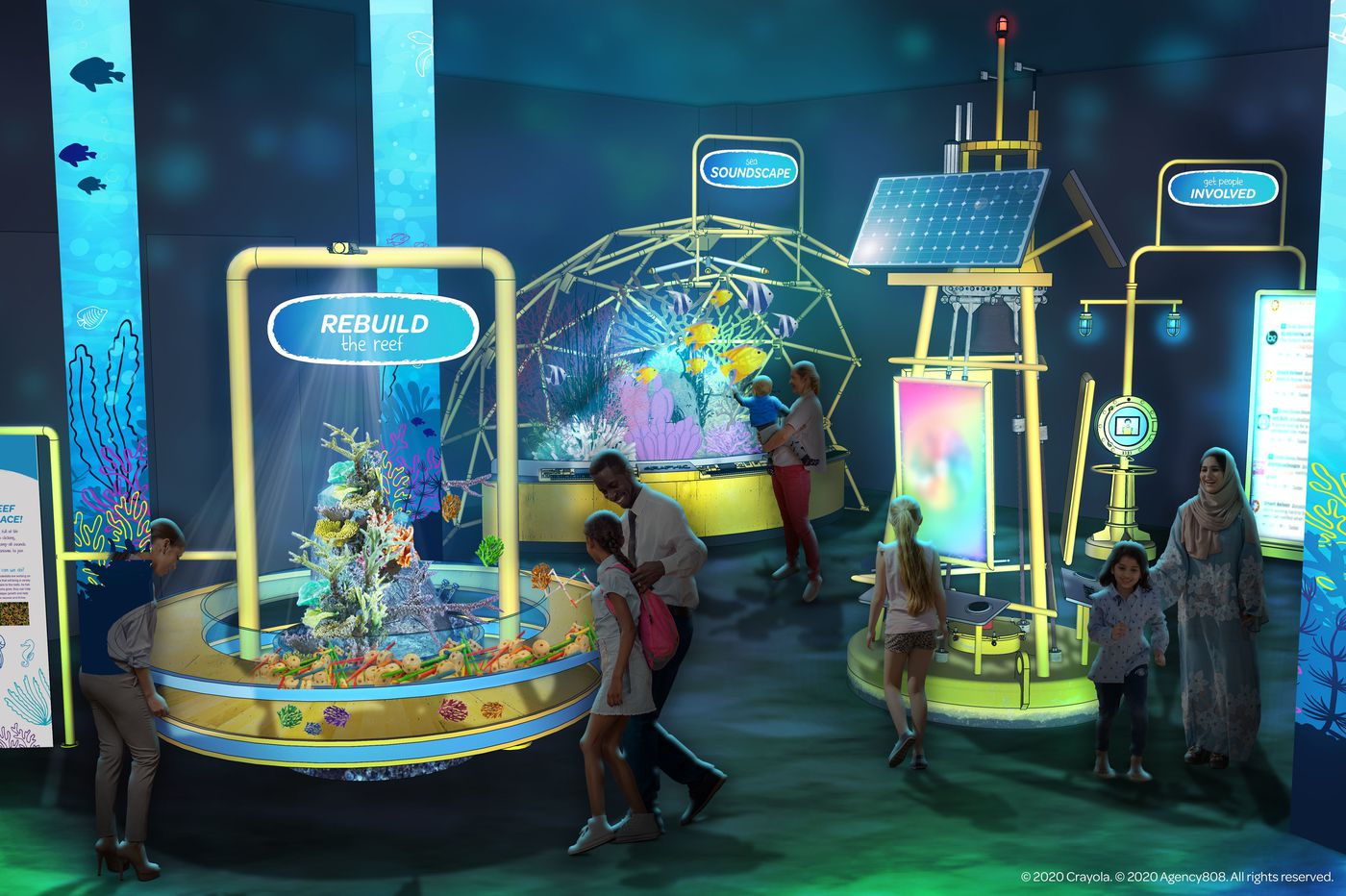 Franklin Institute and Crayola are building an idea space of the future, opening Feb. 2021