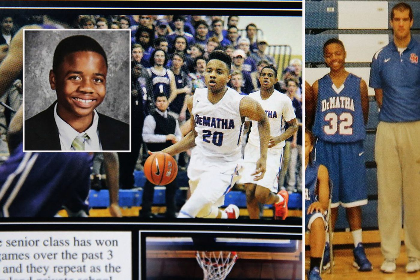 Markelle Fultz proved his mettle at famed DeMatha High School