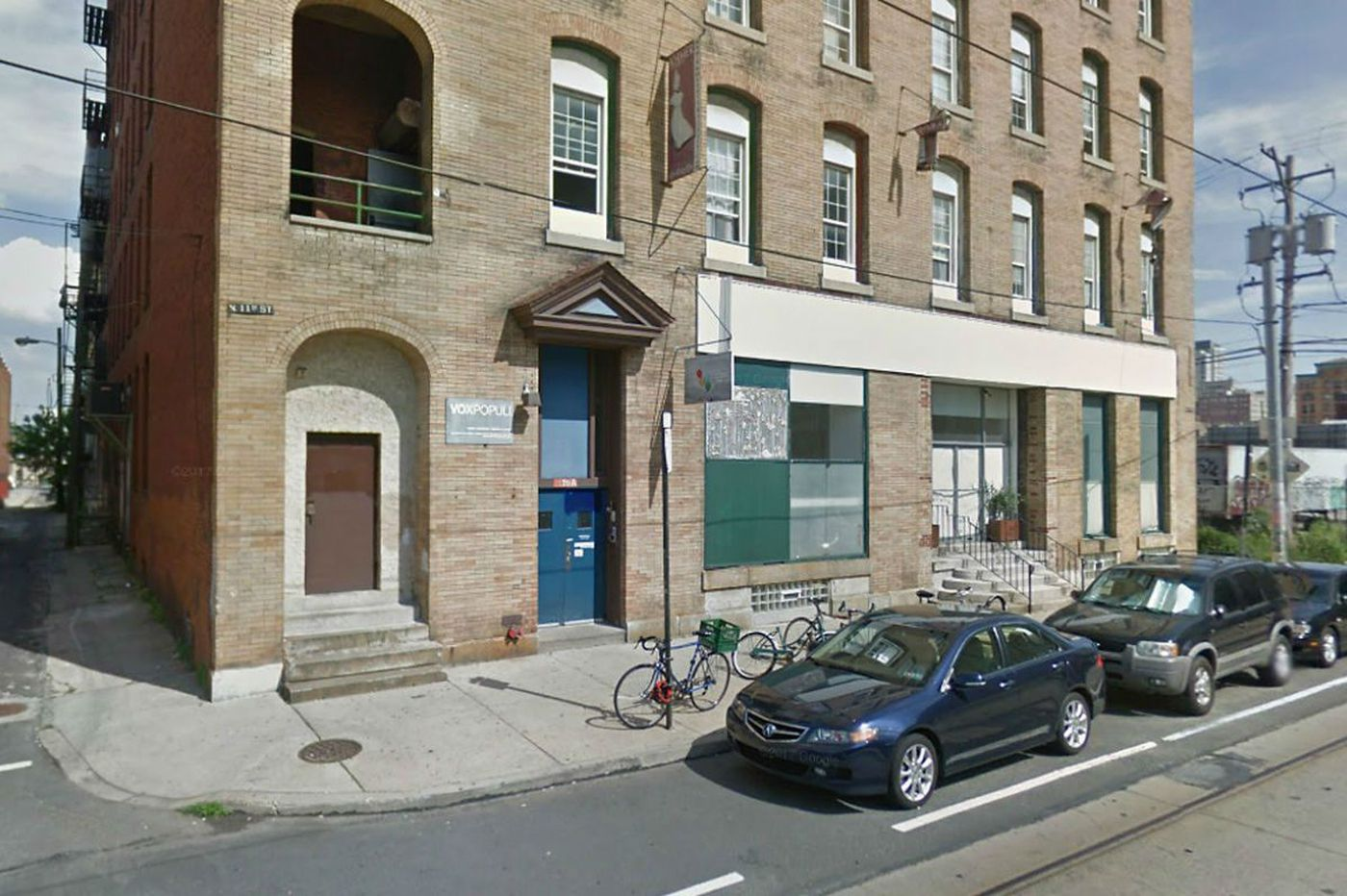 Stairwell fire closes artists' space Vox Populi