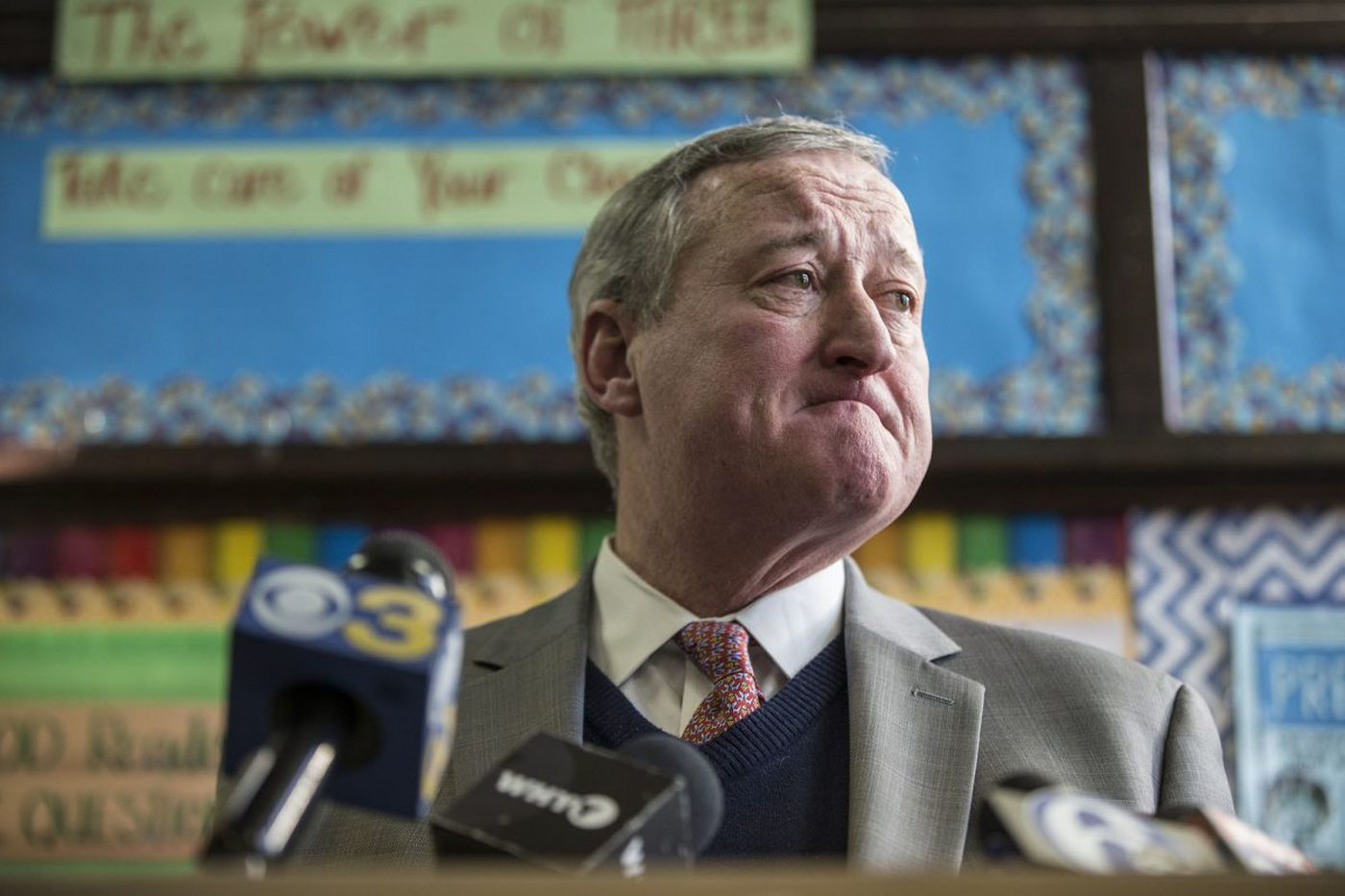 Mayor Kenney's budget wish list: Higher property taxes, transfer fees to fund extra $1 billion for schools