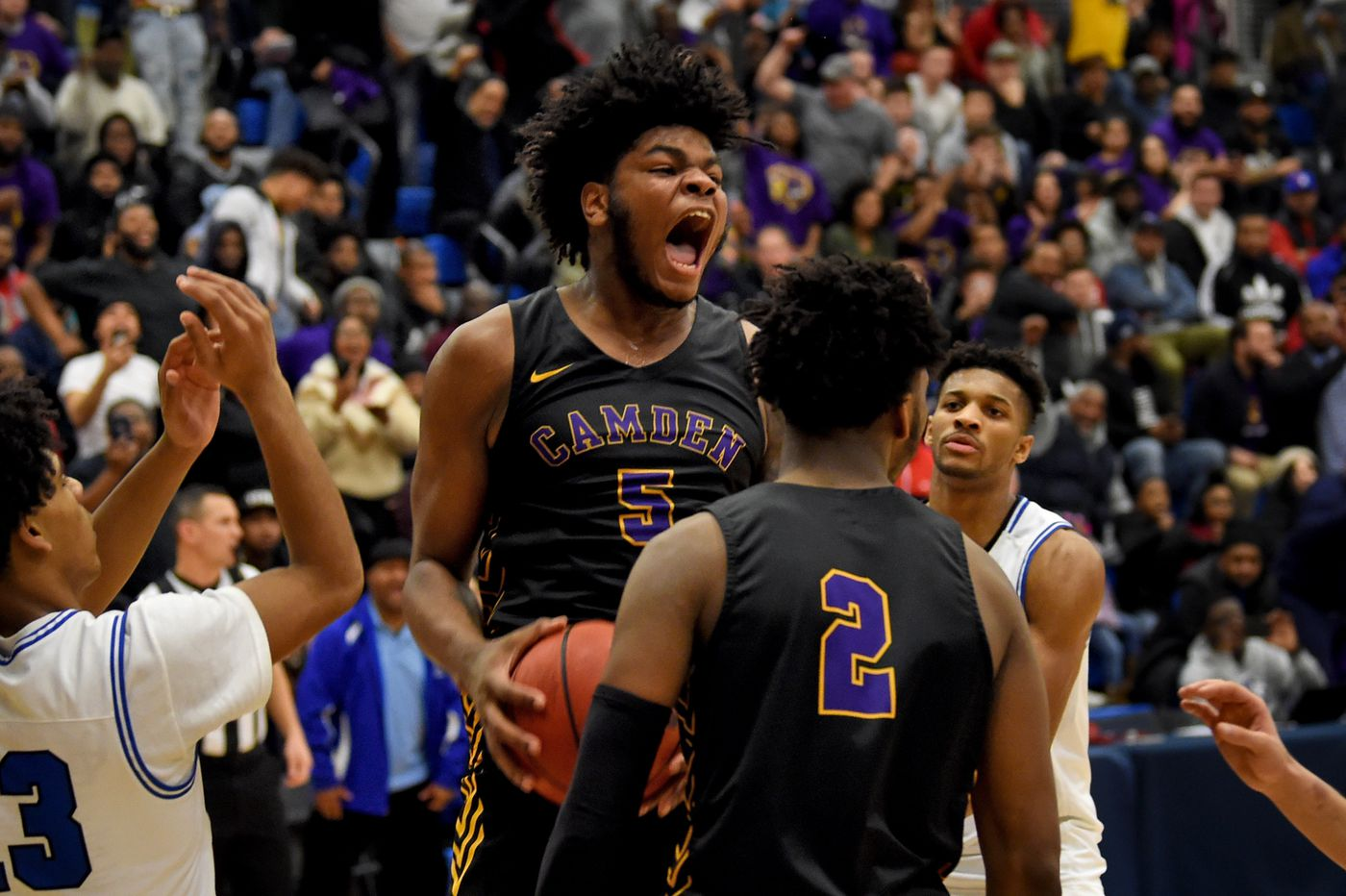 Camden basketball star TaQuan Woodley commits to Penn State