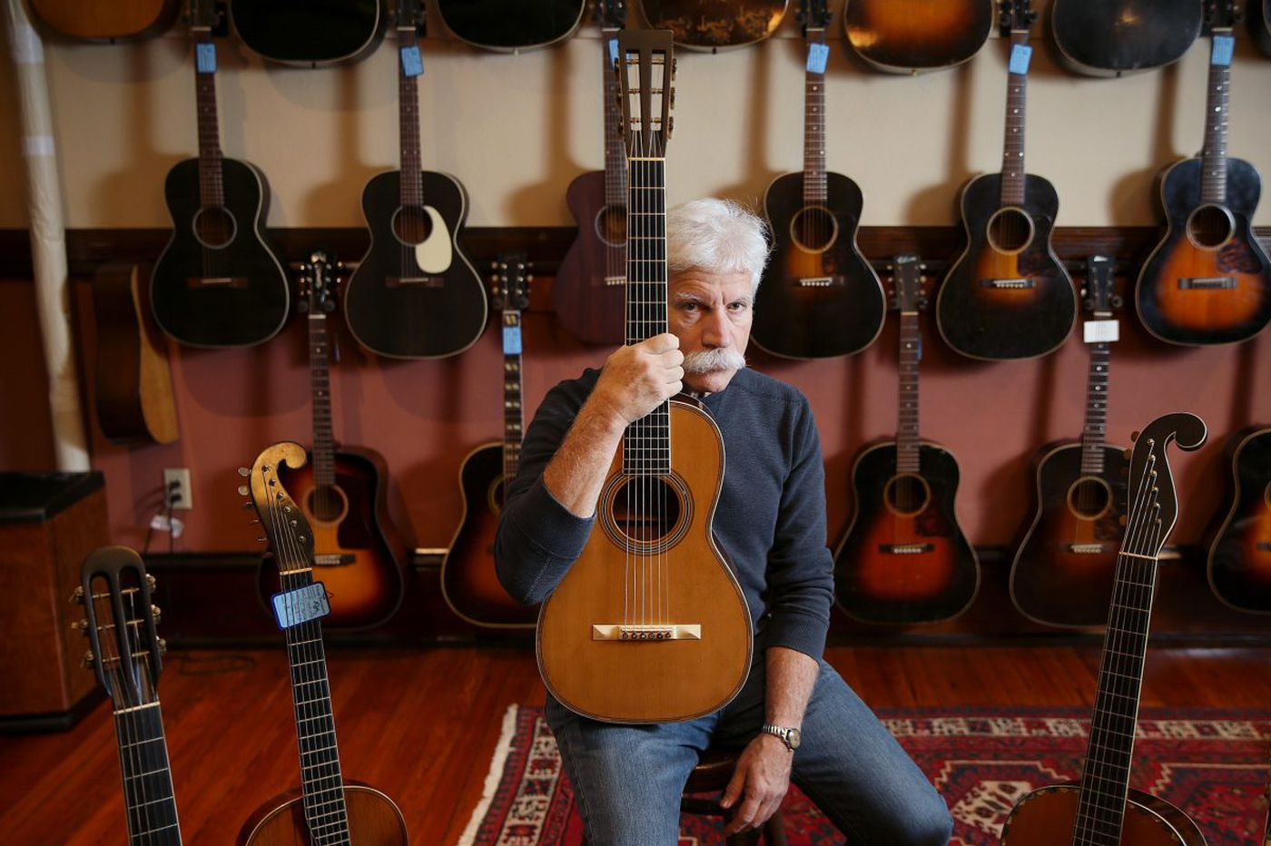Want to see some really old Martin guitars? This Philly shop hosts a rare exhibition this weekend