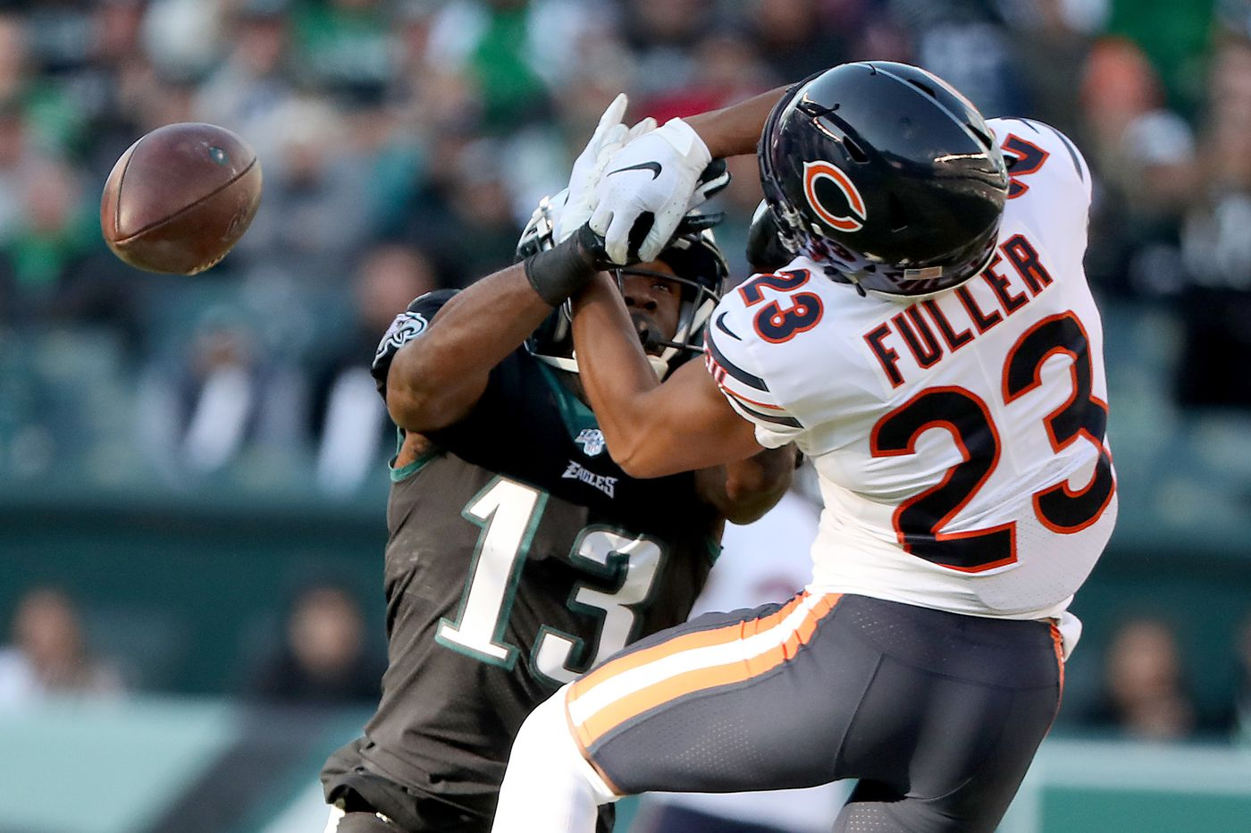 Philadelphia Eagles 22, Chicago Bears 14 — as it happened
