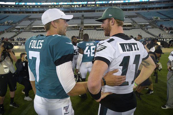 Former Eagles quarterback Nick Foles set to return as Jaguars starter