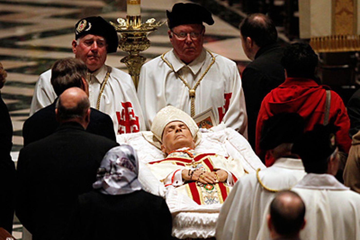 Foley funeral draws church dignitaries