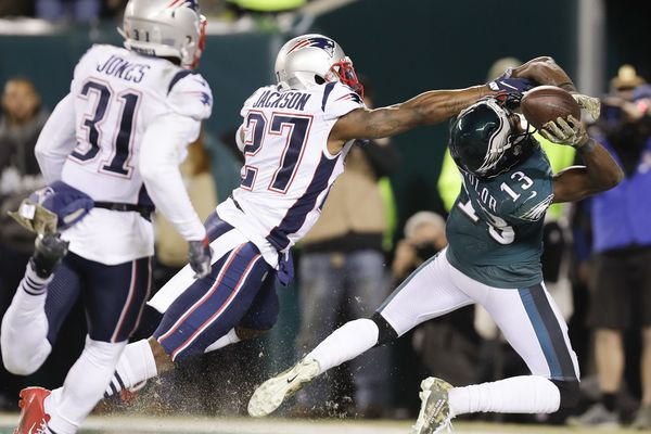 Nelson Agholor misses Eagles practice with knee injury, Nigel Bradham returns