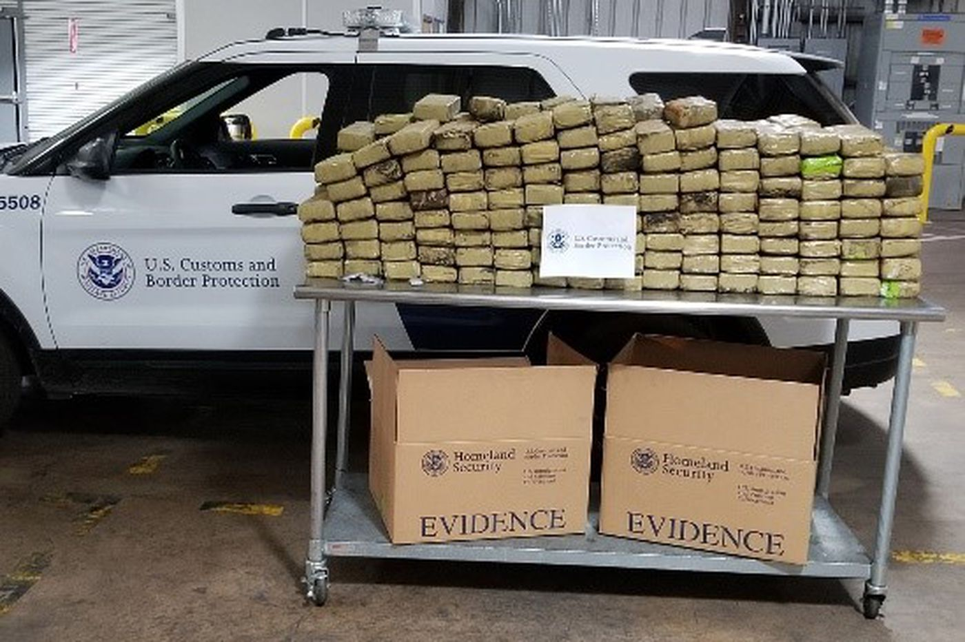 Philly port's biggest marijuana bust: Hidden in a container of rice, worth about $2.5 million