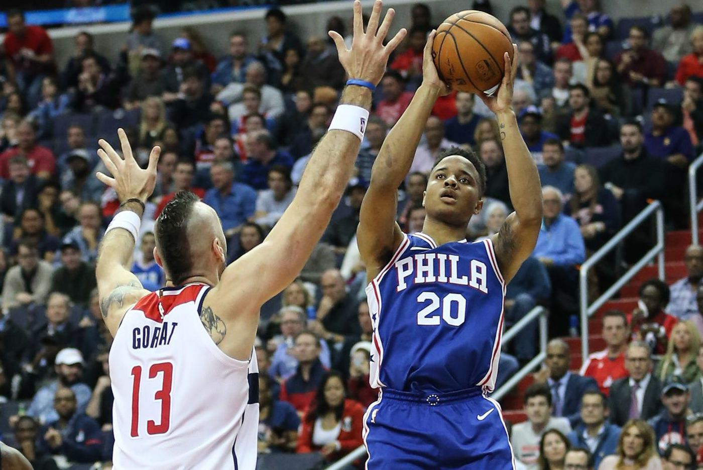 Markelle Fultz's shoulder is clearly affecting his shot, but will the Sixers sit him?