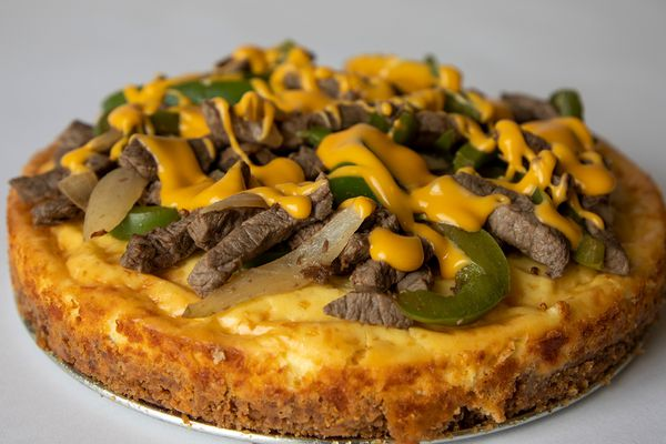 I made a cheesesteak cheesecake, and, guys, it actually tasted good