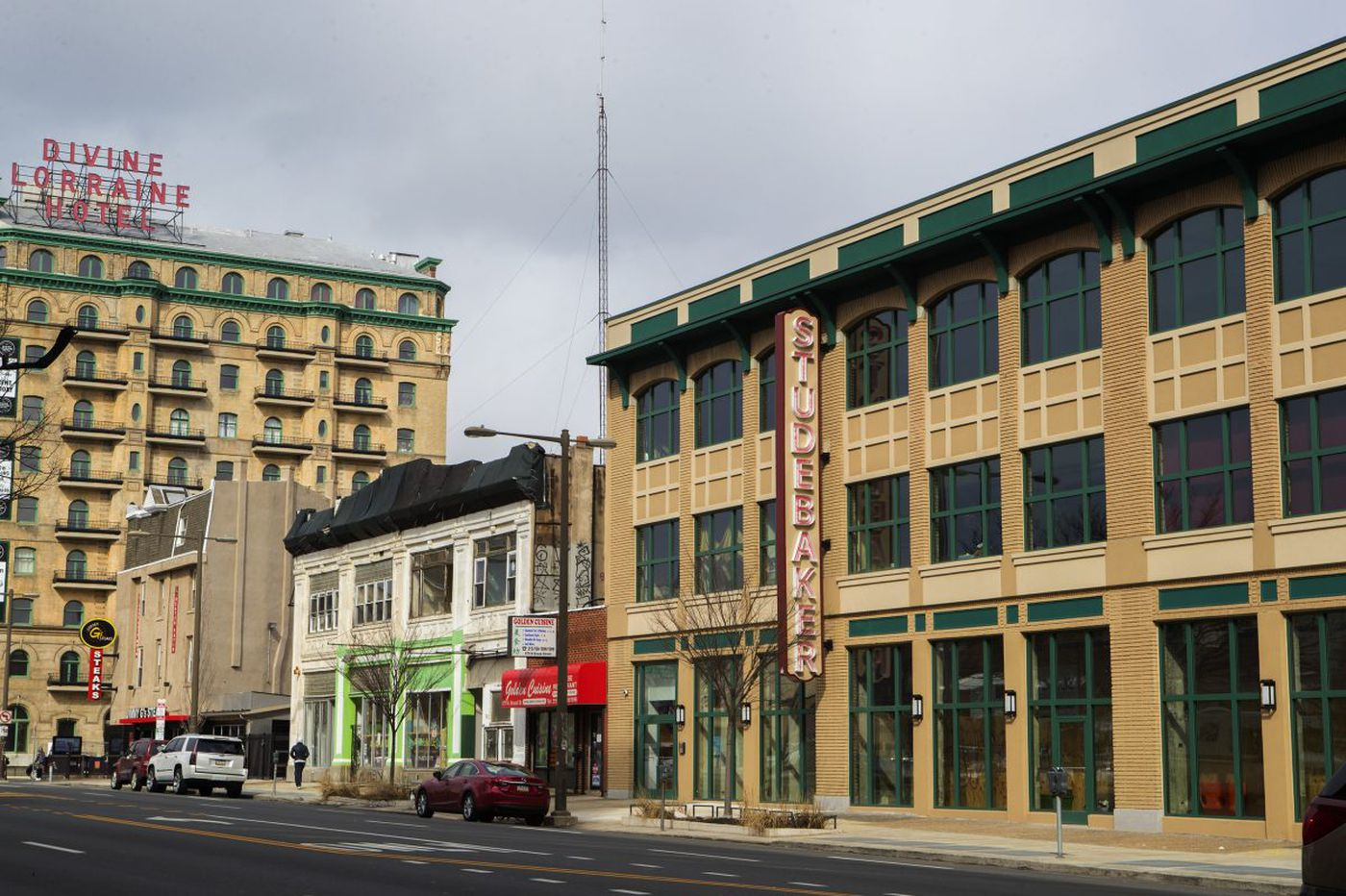 A Studebaker showroom returns to North Philadelphia, this time without the cars