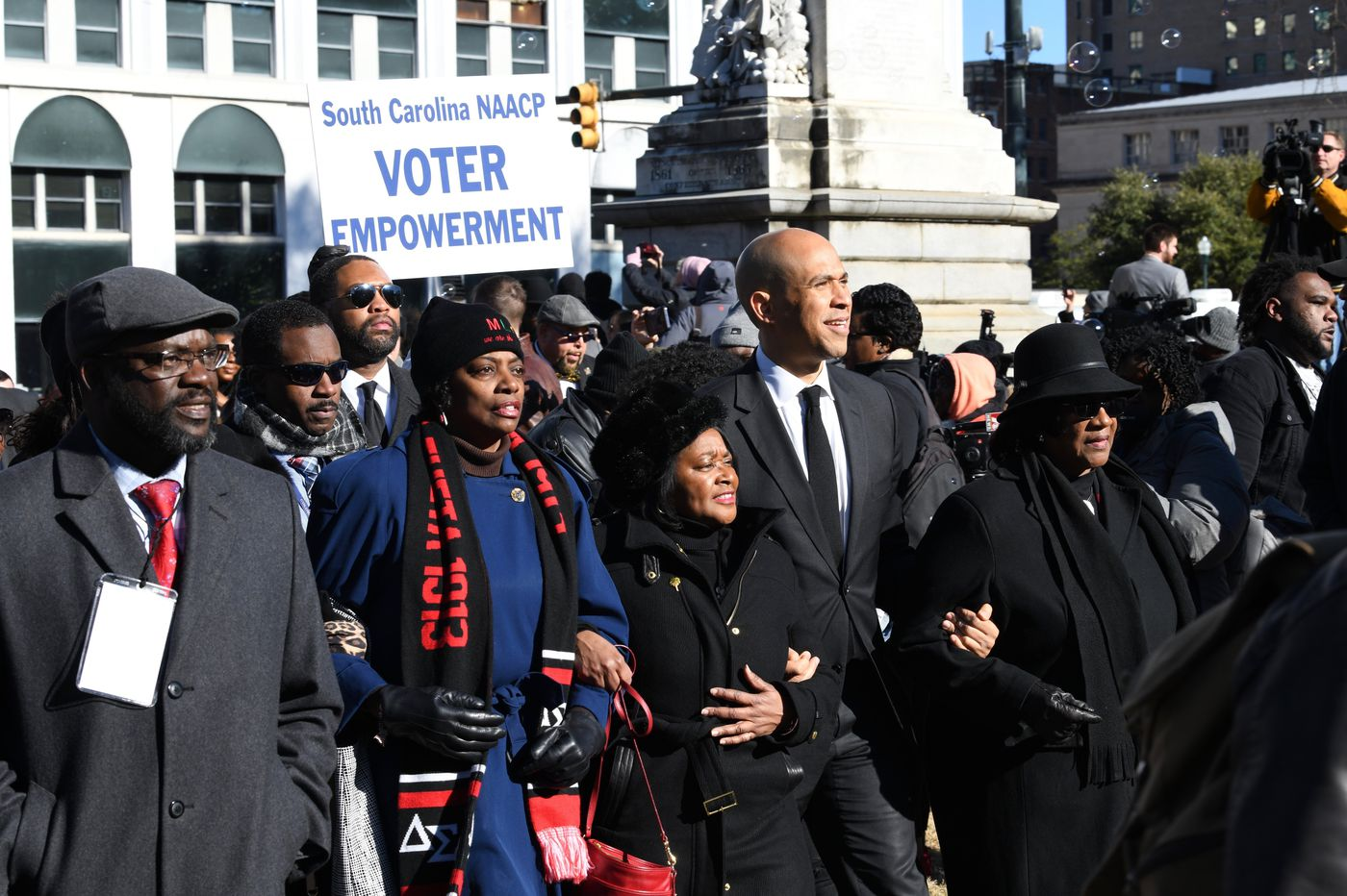 Cory Booker tackles race, racism as he courts black vote in South Carolina