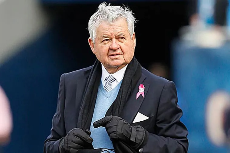 Fans of the Panthers purchased a full-page ad in Monday's Charlotte Observer ripping team owner Jerry Richardson. (Charles Rex Arbogast/AP file photo)