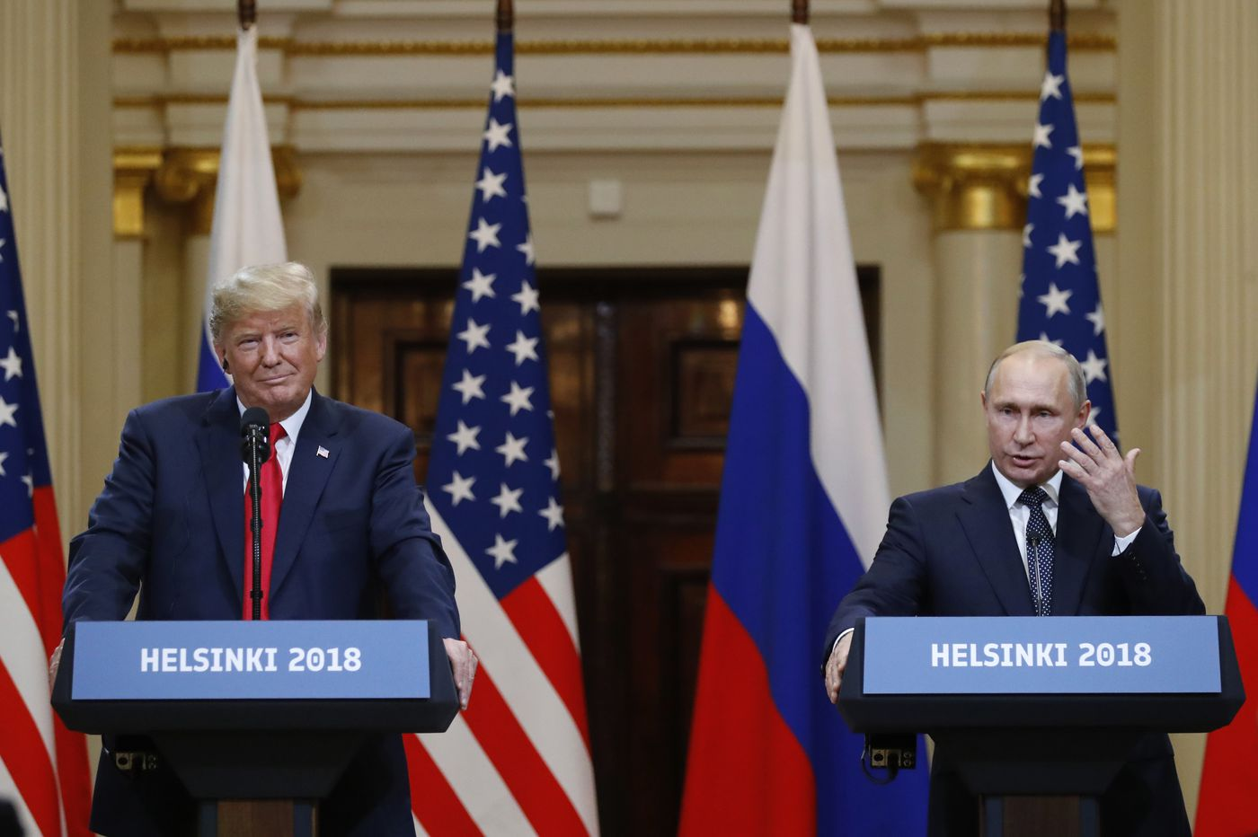 Trump surrenders to Putin at Helsinki summit | Trudy Rubin