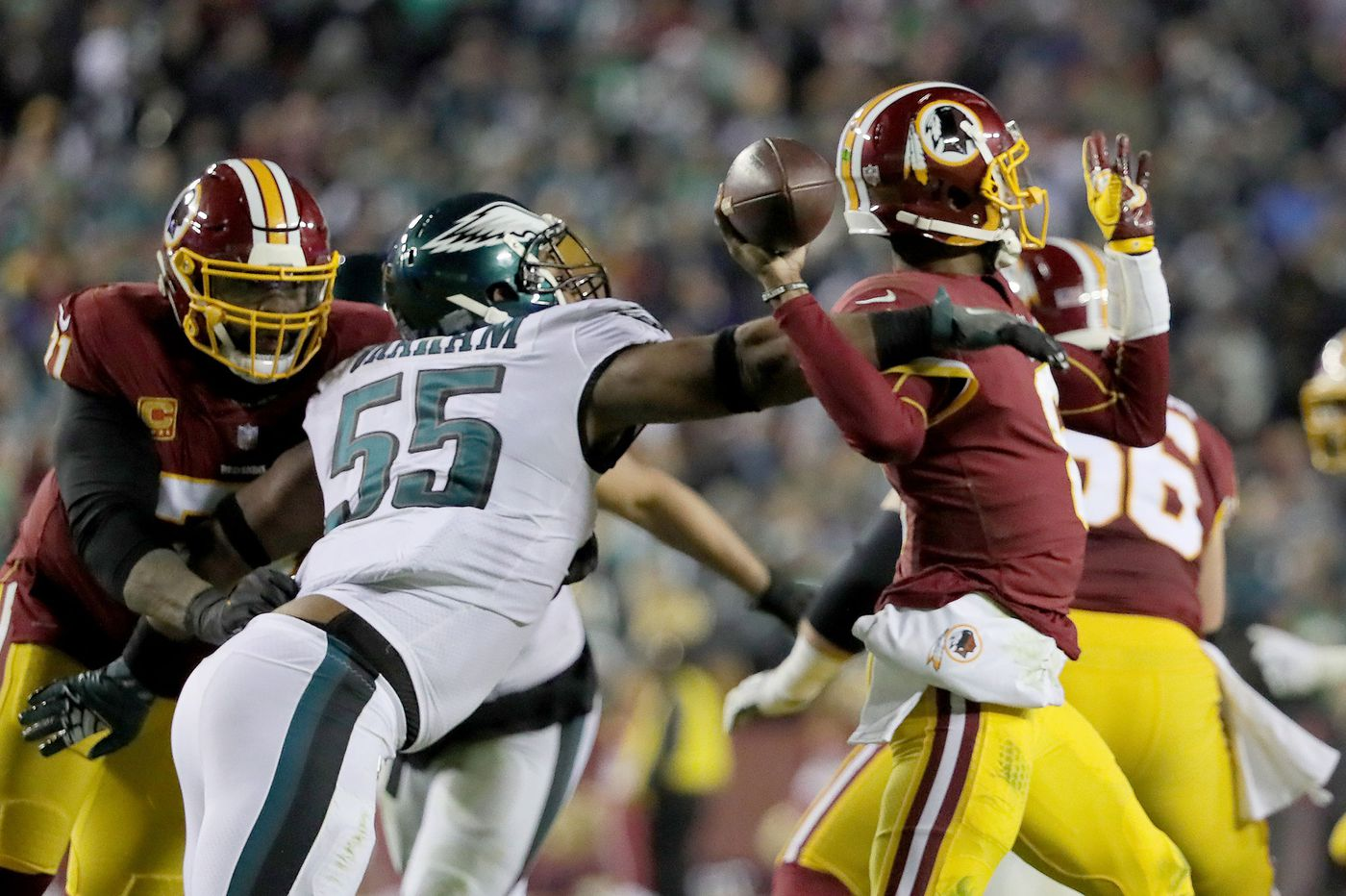 One reason for the Eagles' late-season surge? Better tackling on defense.