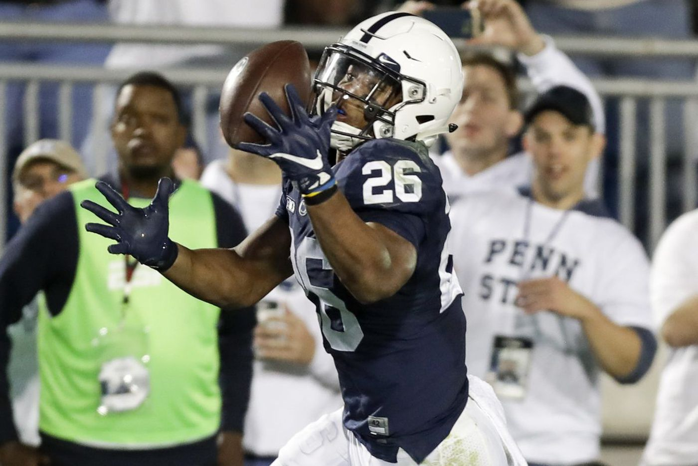 Saquon Barkley, Trace McSorley spark No. 2 Penn State to rout of No. 19 Michigan