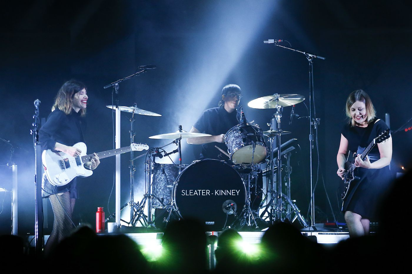 A new Sleater-Kinney, still electric at the Fillmore