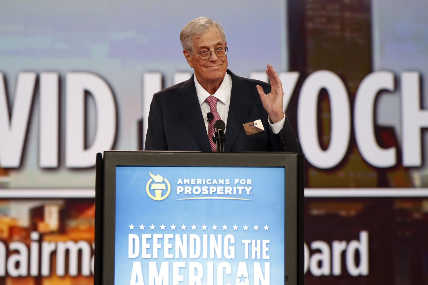 David Koch, famed billionaire conservative donor, dies at age 79
