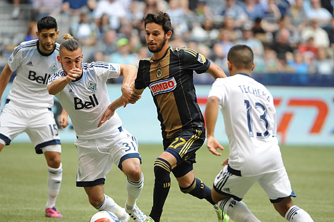 Union fall to Whitecaps for fourth straight loss