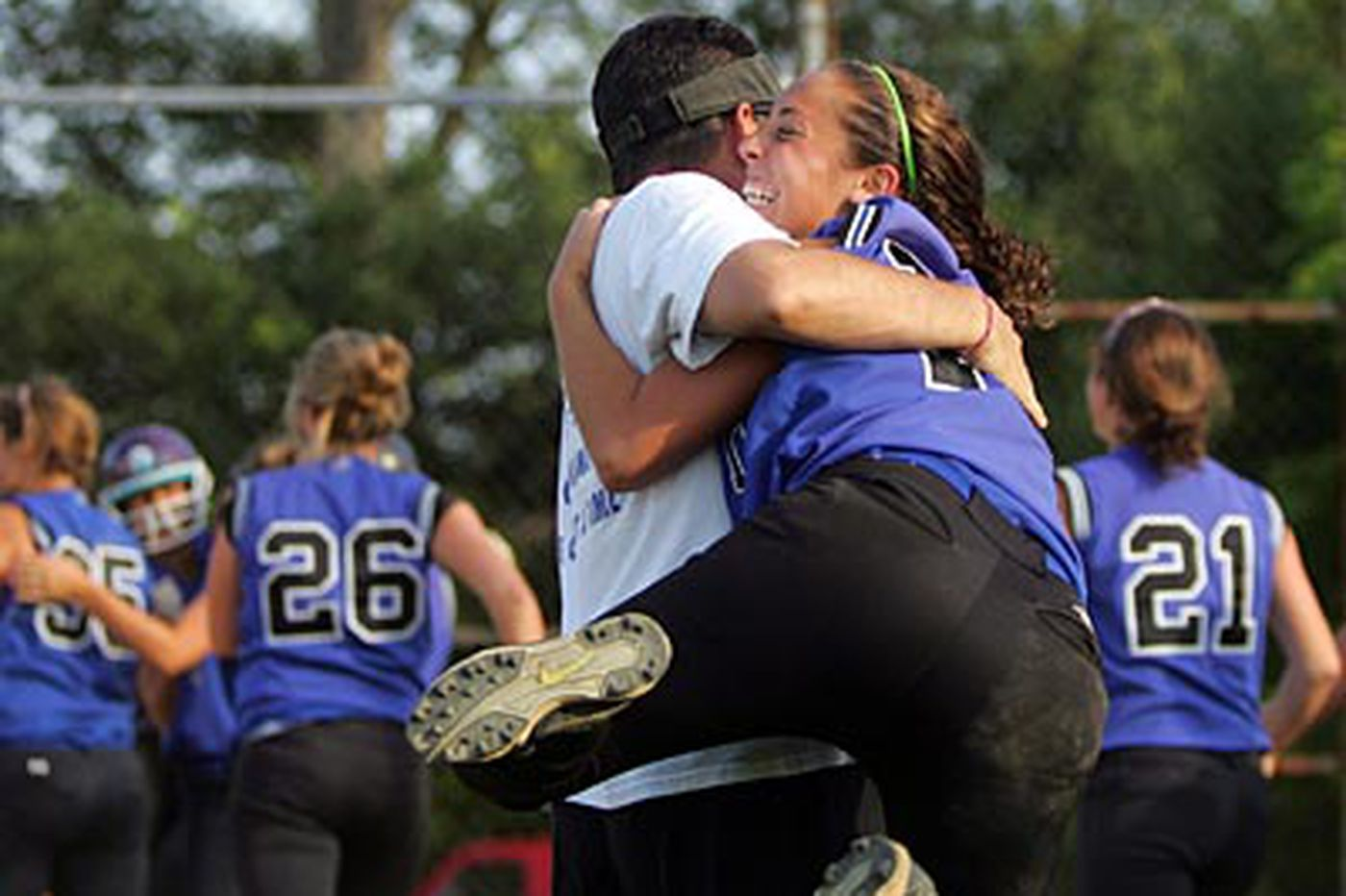A first for C.B. South: district softball crown