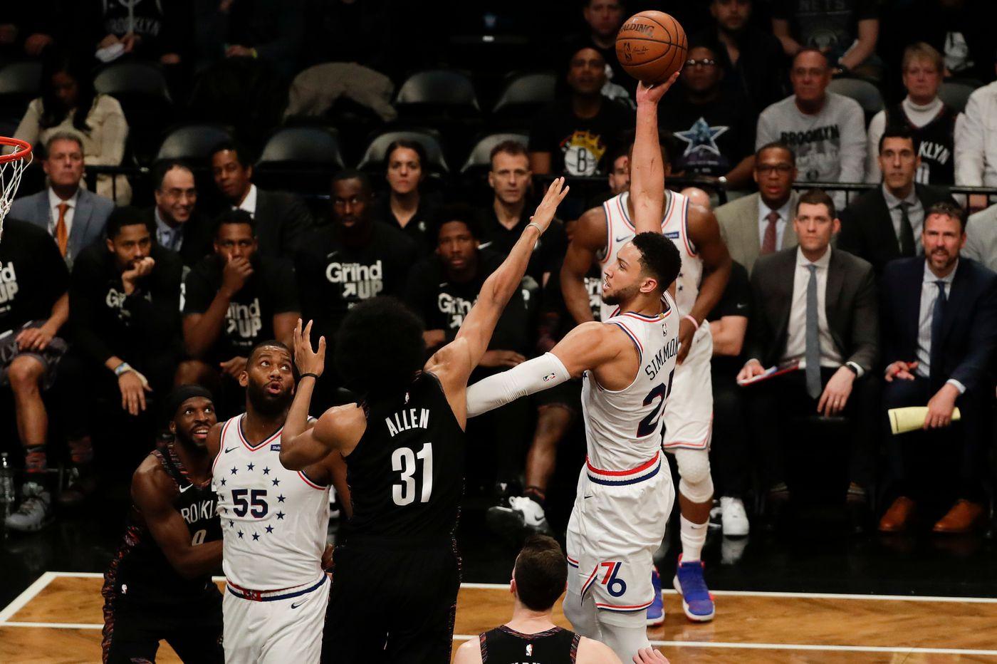 Ben Simmons joins Oscar Robertson, Magic Johnson in NBA playoffs' history books