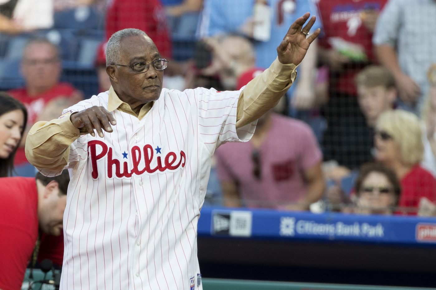 Phillies great Tony Taylor suffers stroke after leaving Citizens Bank Park celebration