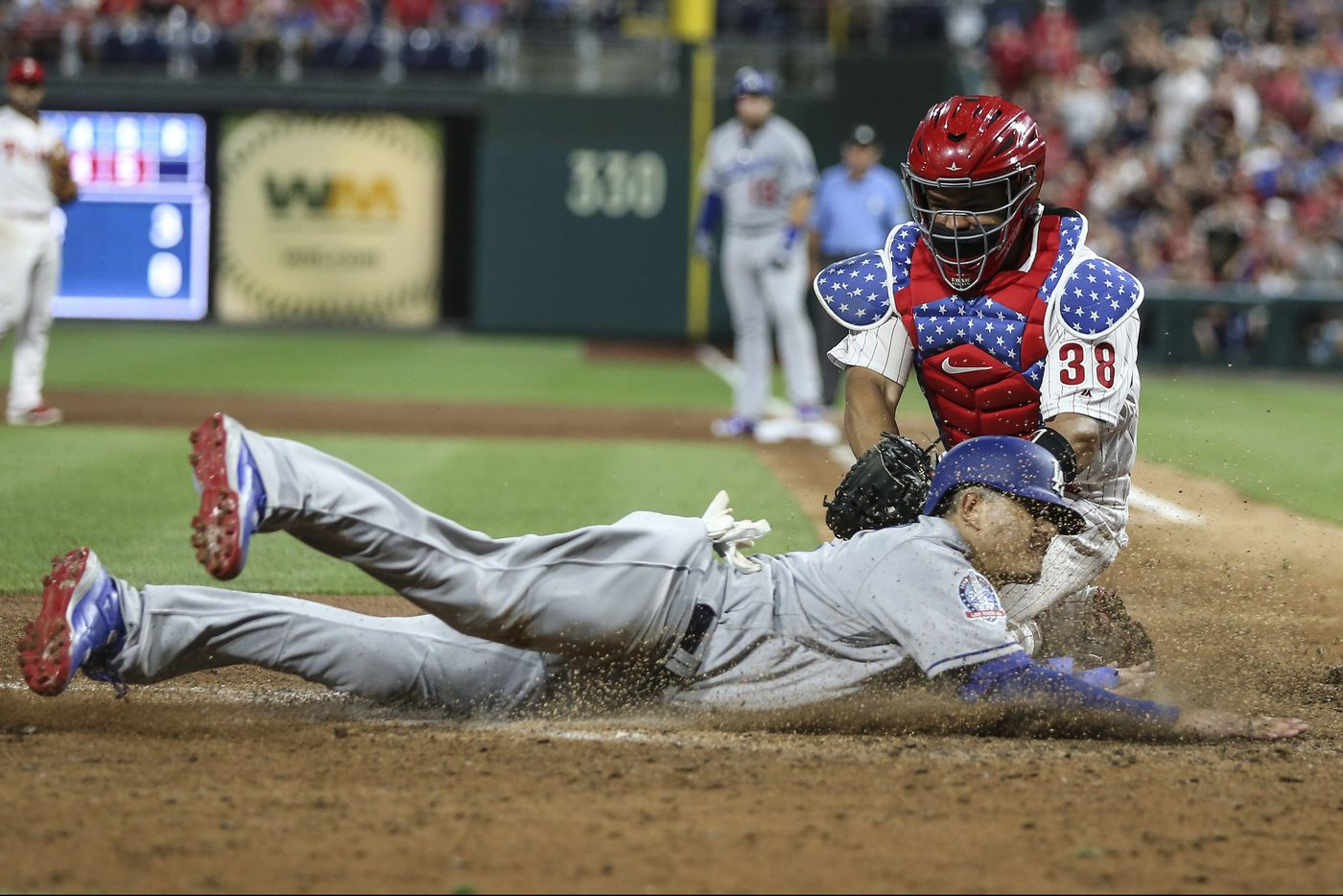 Phillies' past, present, possible future on display in loss to Dodgers