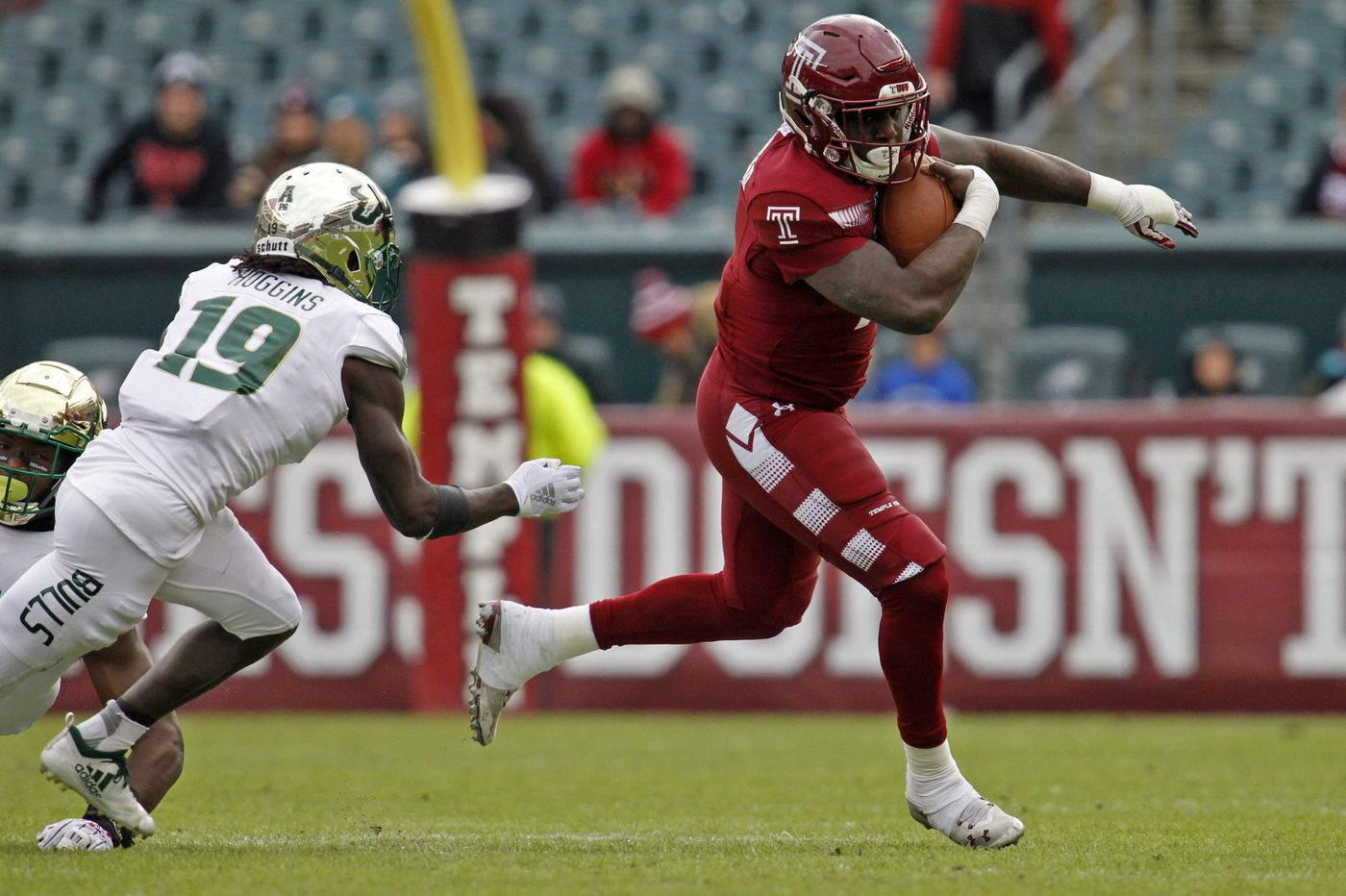 Which bowl game will Temple football play in?