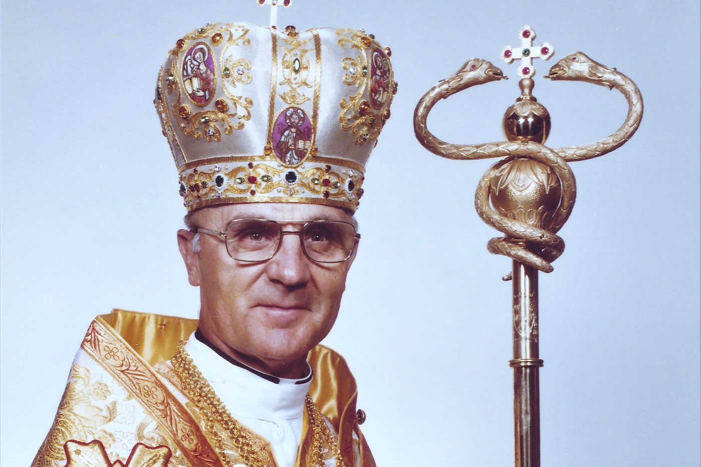 Archbishop Stephen Sulyk, a longtime leader in the Ukrainian Catholic Church, dies of the coronavirus at 95