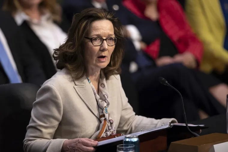 Gina Haspel, President Donald Trump's pick to lead the Central Intelligence Agency, testifies at her confirmation hearing before the Senate Intelligence Committee, on Capitol Hill in Washington, Wednesday, May 9, 2018.