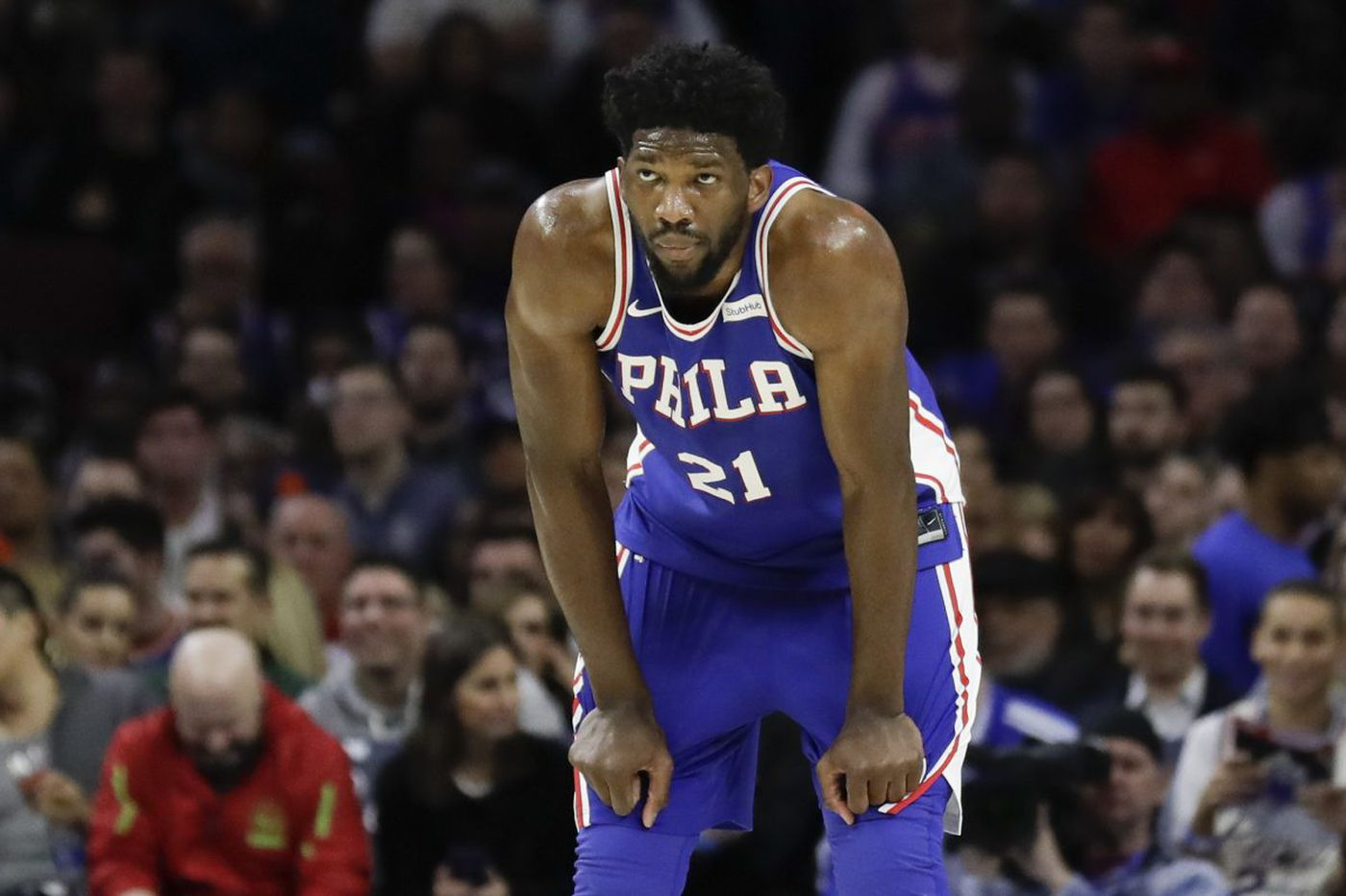 Sixers' Joel Embiid out vs. Heat with ankle soreness