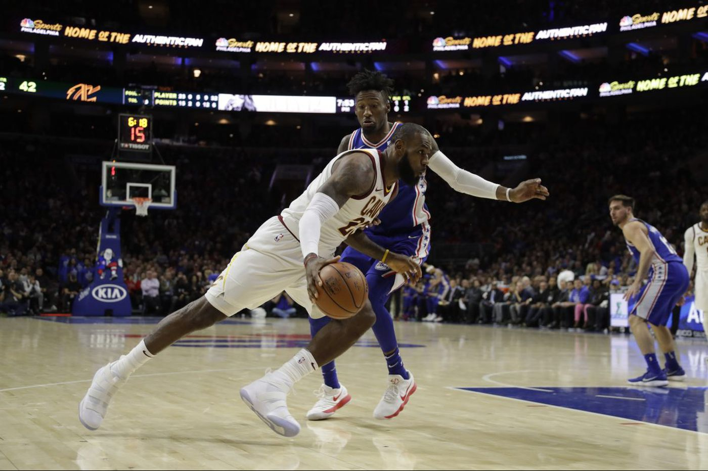 Sixers-Cavaliers: Attempting to win without Joel Embiid