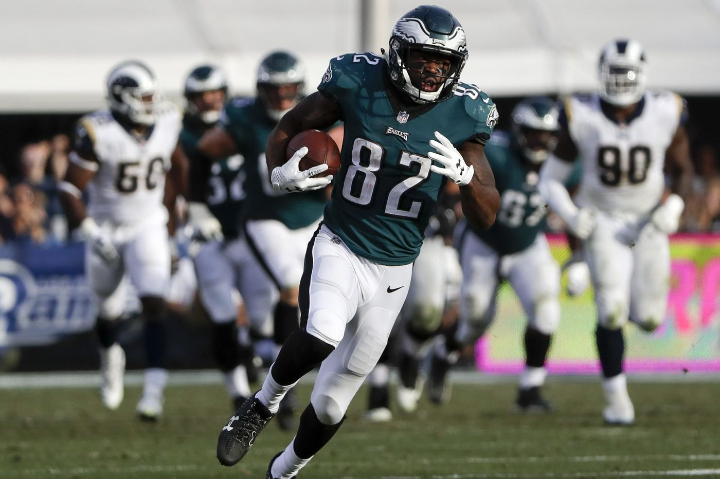 Eagles seek new deep threat against Panthers with Mike Wallace injured and Torrey Smith on opposite sideline