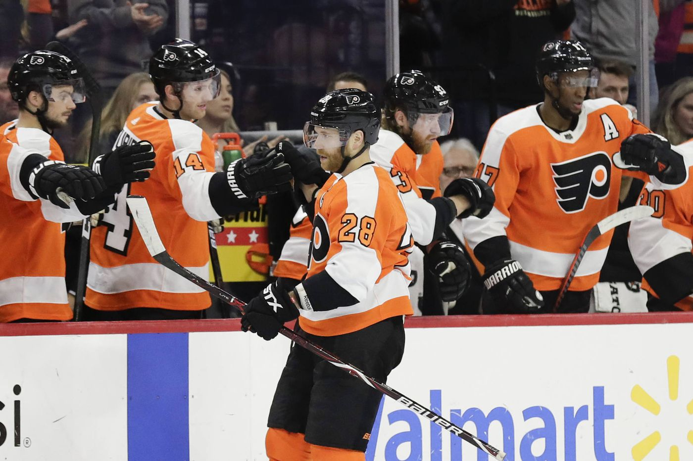 Claude Giroux lone Flyer on all-star team